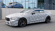 Mercedes-AMG GT4 Sedan Spy Shots