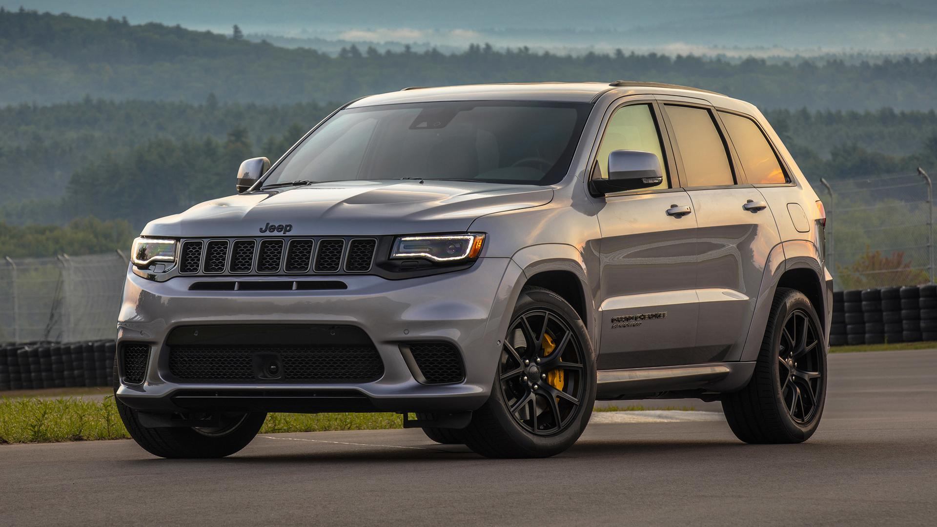 2018 Jeep Grand Cherokee Trackhawk First Drive Hellcat All The Things