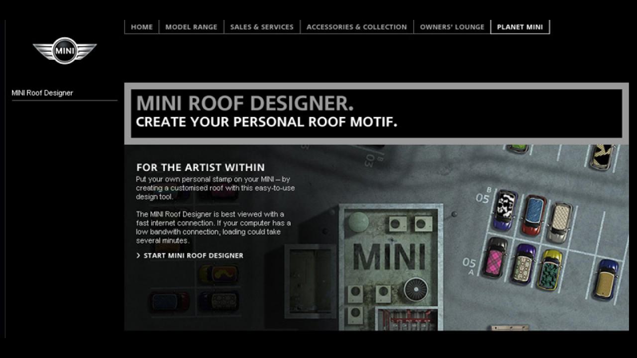 MINI Roof Designer