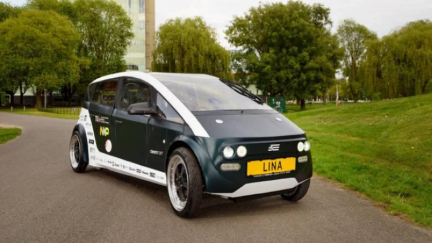 Lina, la première voiture biodégradable