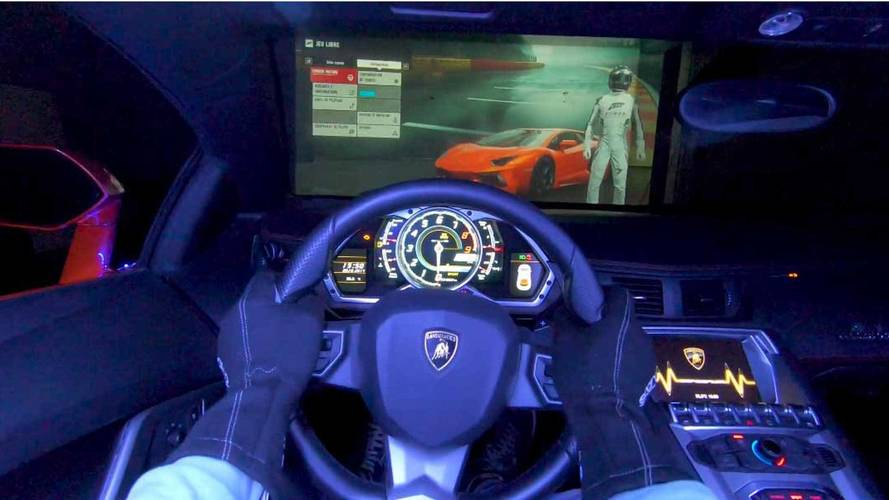 Gamer Goes Mental, Turns His Actual Lambo Into An Xbox Controller