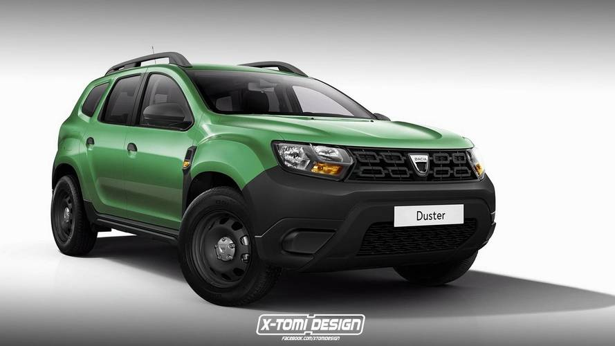 2018 Dacia Duster Pickup, GT, Three-Door, Basic versions rendered