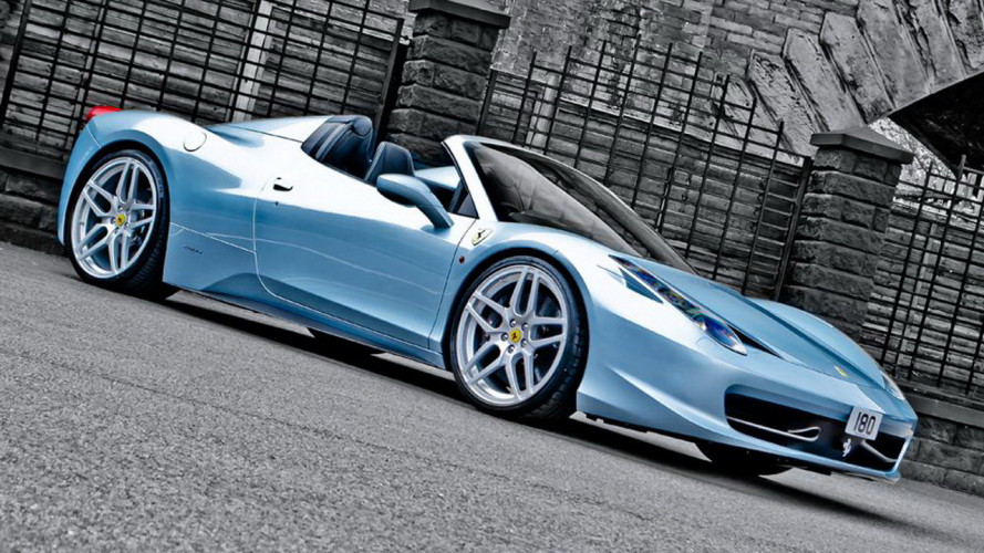 Ferrari 458 Spider by Kahn Design