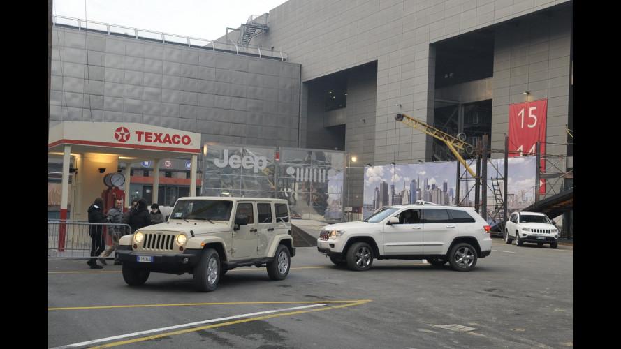 Il Motor Show mette alla prova le Jeep