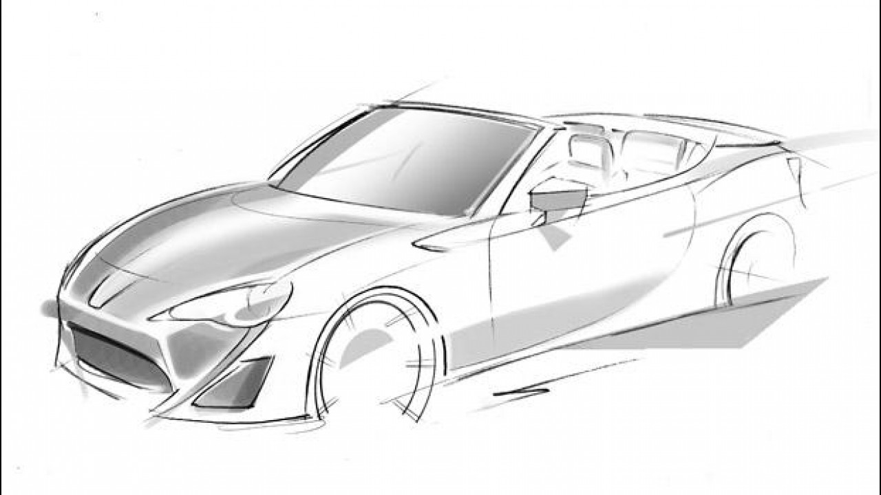 [Copertina] - Toyota FT-86 Open Concept, il primo teaser
