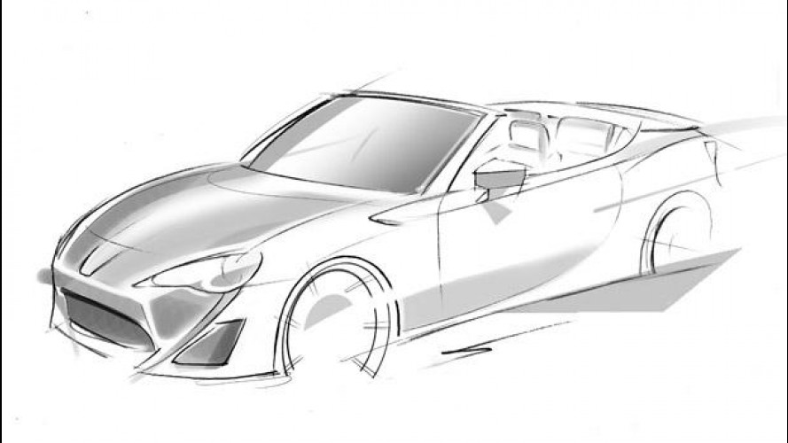 Toyota FT-86 Open Concept, il primo teaser
