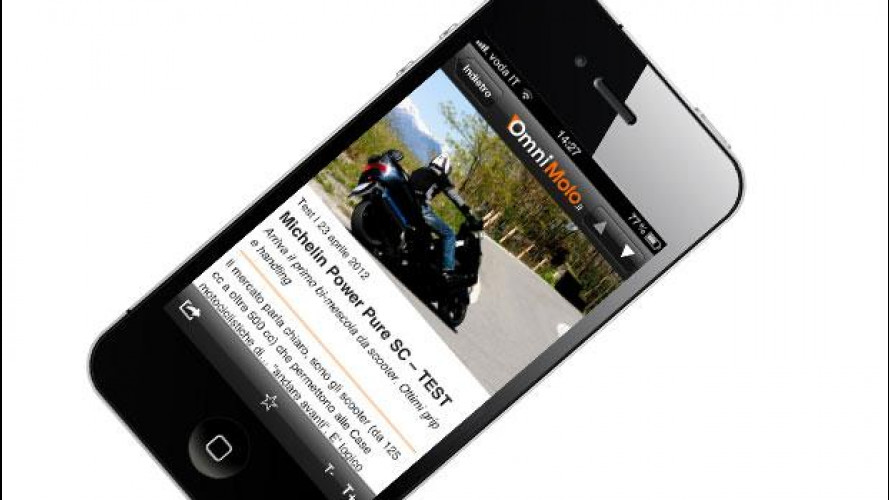 OmniMoto.it è su iPhone