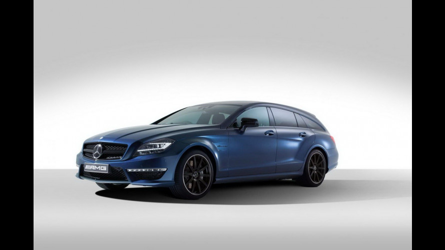 Mercedes-Benz CLS 63 AMG Shooting Brake by Spencer Hart
