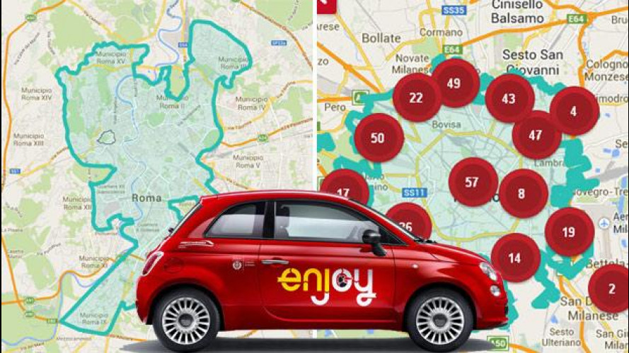 Enjoy, doppio traguardo a Milano e Roma