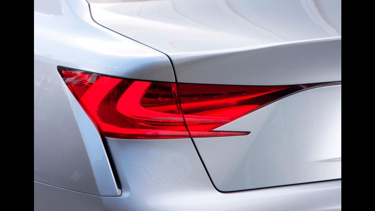 Lexus LF-Gh Hybrid Concept: le prime foto