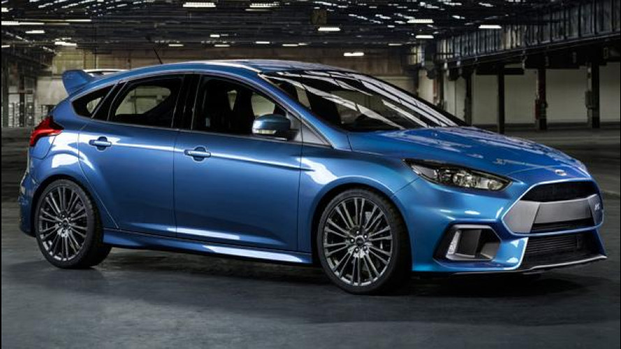 Ford Focus RS, la 4x4 da oltre 320 CV