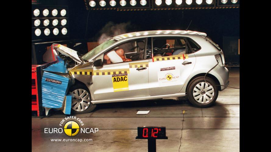 Nuova parata di 5 stelle Euro NCAP