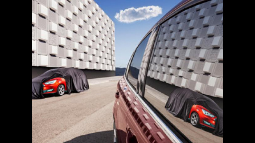 Ford C-Max restyling, prima foto ufficiale
