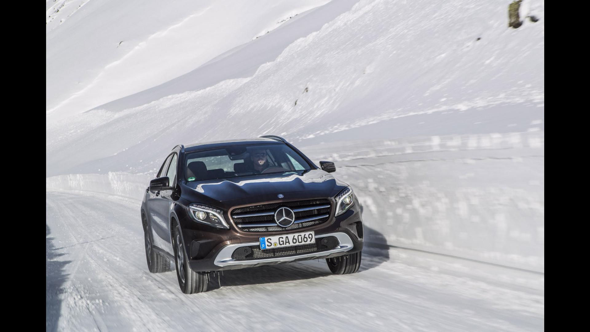 Schemi Elettrici Mercedes : Prova su strada nuova mercedes classe a cv