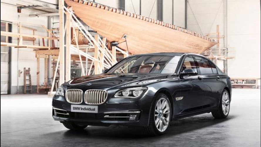 La BMW Individual 760Li Sterling ispirata da ROBBE & BERKING