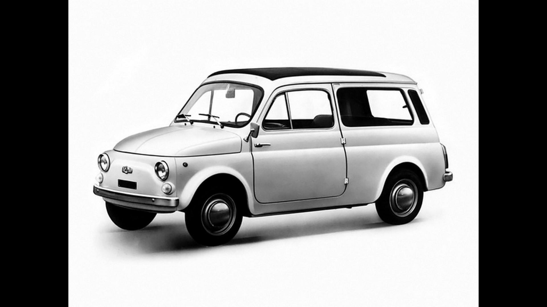 Fiat 500 Giardiniera La Mini Wagon