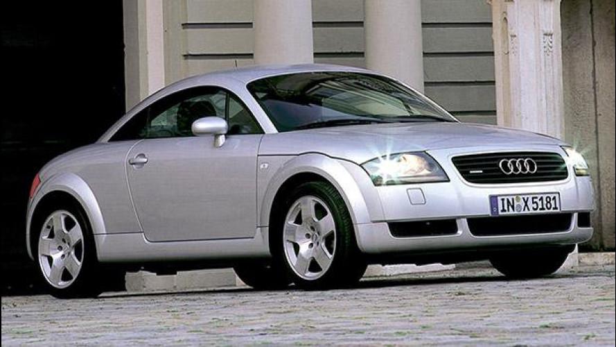 Audi TT, la coupé della svolta