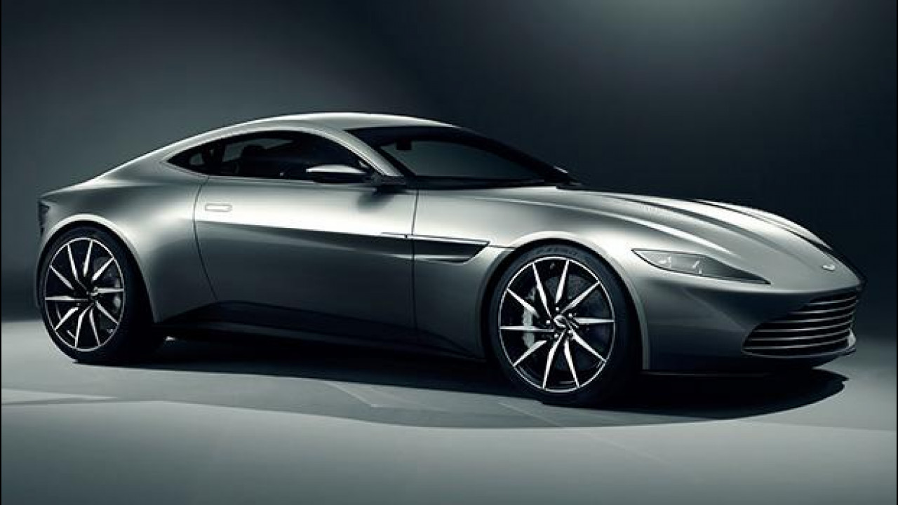 [Copertina] - Aston Martin DB10, la nuova supercar di James Bond