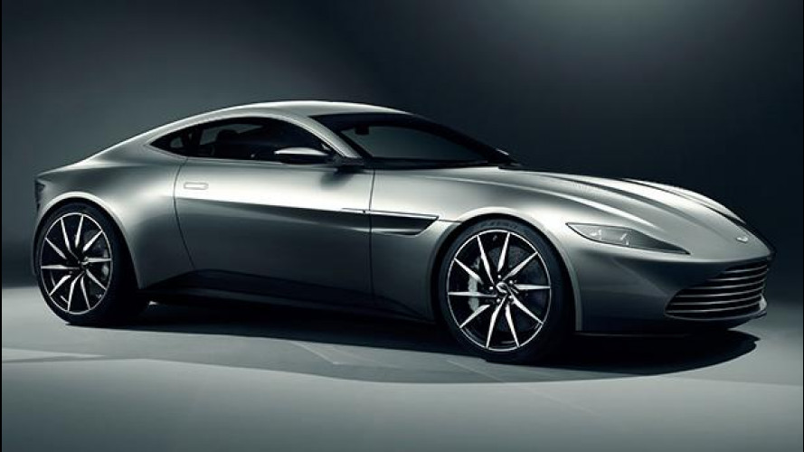 Aston Martin DB10, la nuova supercar di James Bond