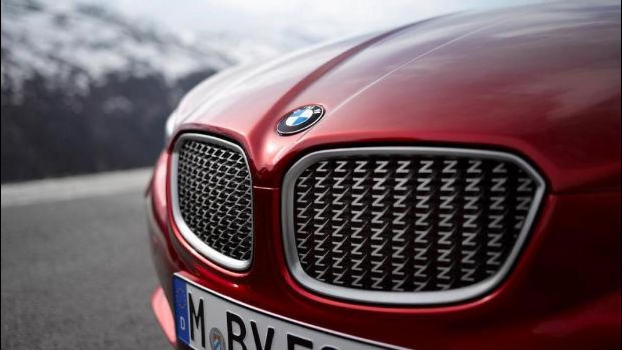 [Copertina] - Una BMW Z4 Coupé Zagato si fa strada nella rete