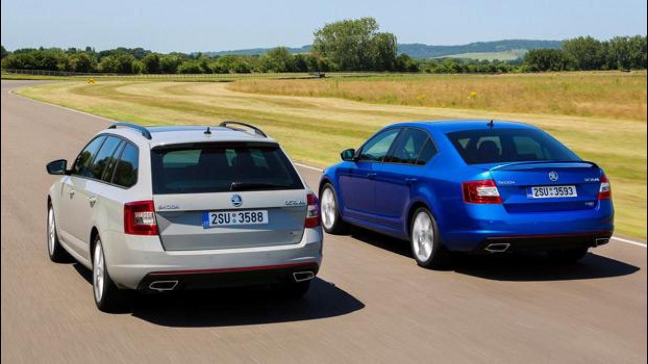 [Copertina] - Nuova Skoda Octavia RS e Octavia Wagon RS: i prezzi