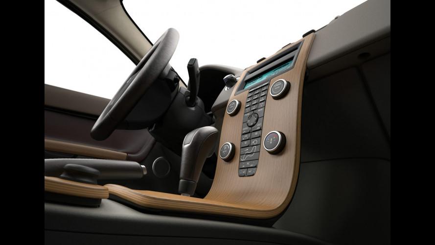 """Volvo punta sul look """"naturale"""" del legno"""