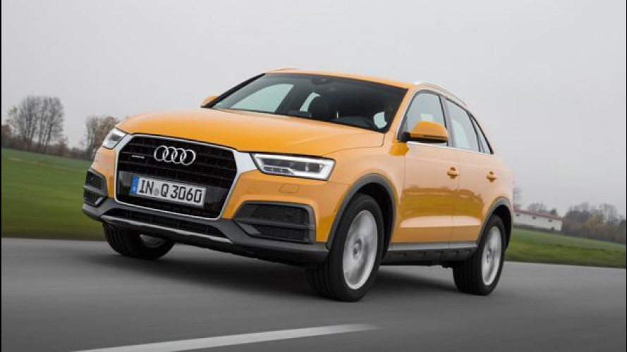 Audi Q3, un lifting per rimanere al top