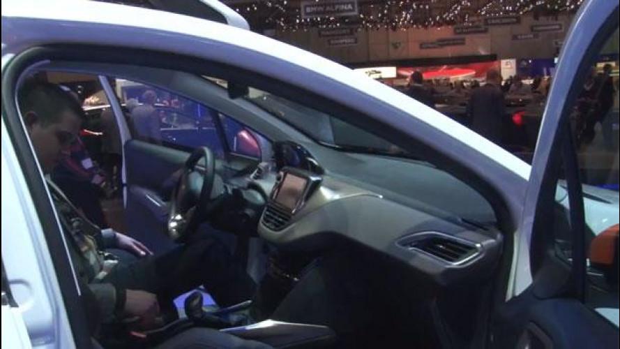 Salone di Ginevra: Peugeot 2008, una 208 con uno zero in più