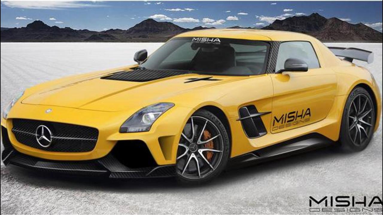 [Copertina] - Mercedes SLS AMG, con Misha Design è un