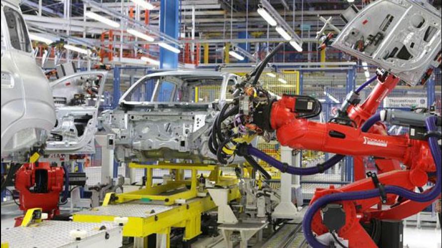 Istat: crolla la produzione industriale, settore auto a -6%