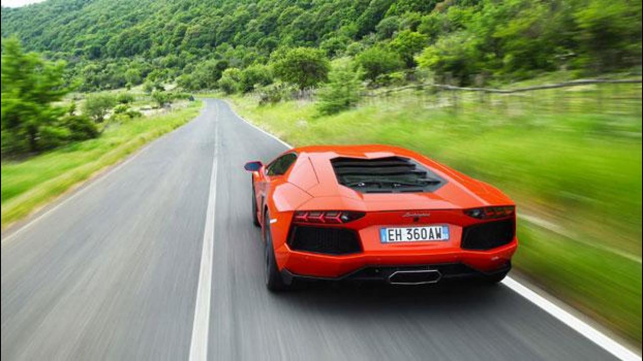 [Copertina] - Lamborghini, in arrivo un'Aventador che va a 6 cilindri