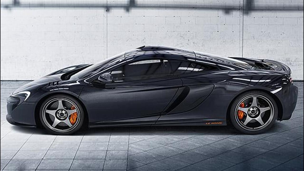 [Copertina] - McLaren 650S Le Mans, aria di vittoria