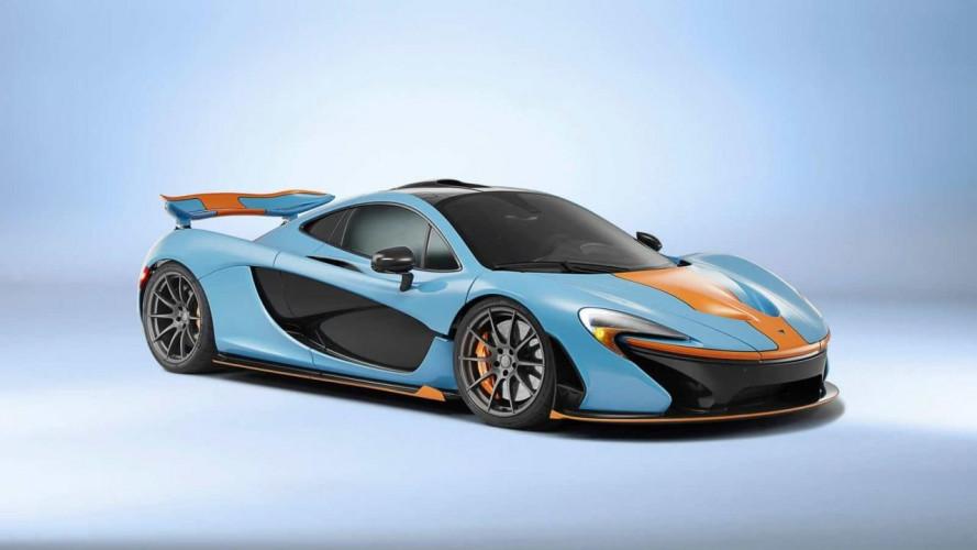McLaren P1 Gulf, i colori della nostalgia