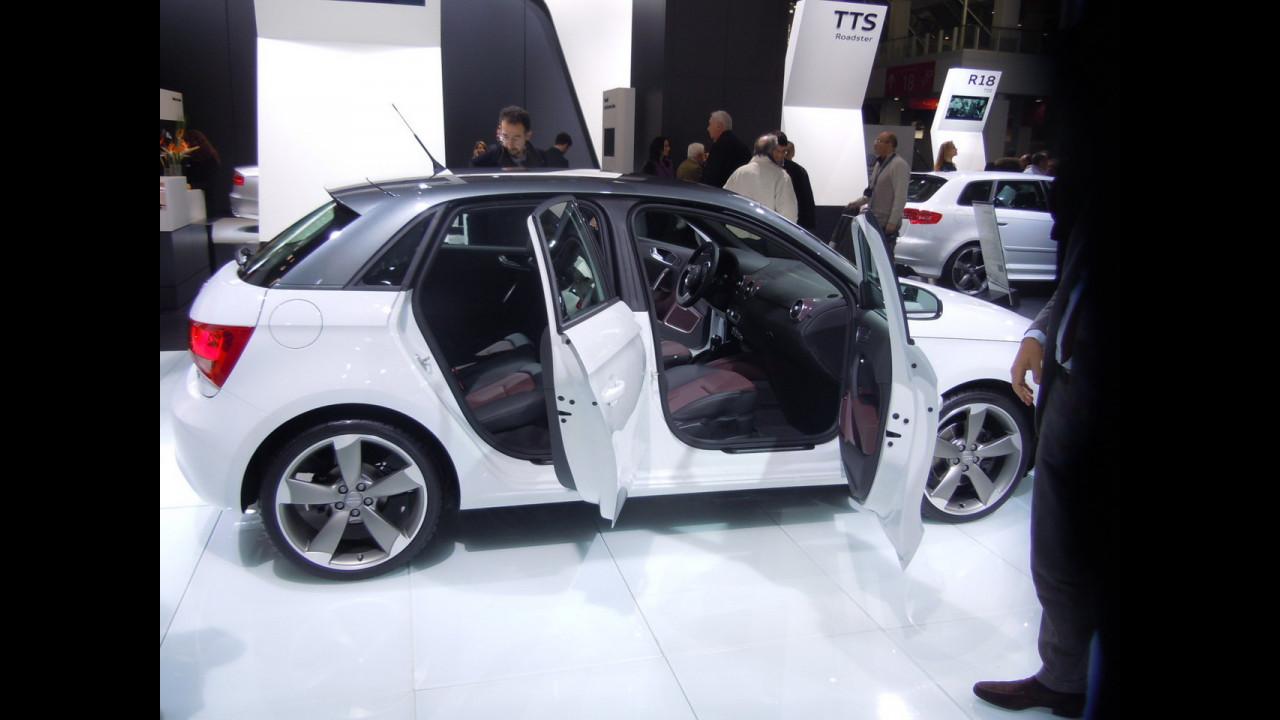 Audi A1 Sportback: primo incontro dal vivo con le 5 porte
