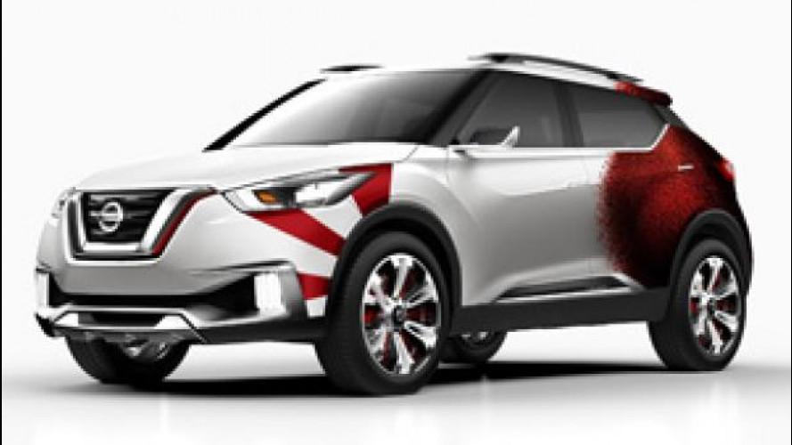 """Nissan, un'auto """"speciale"""" per il carnevale di Rio"""