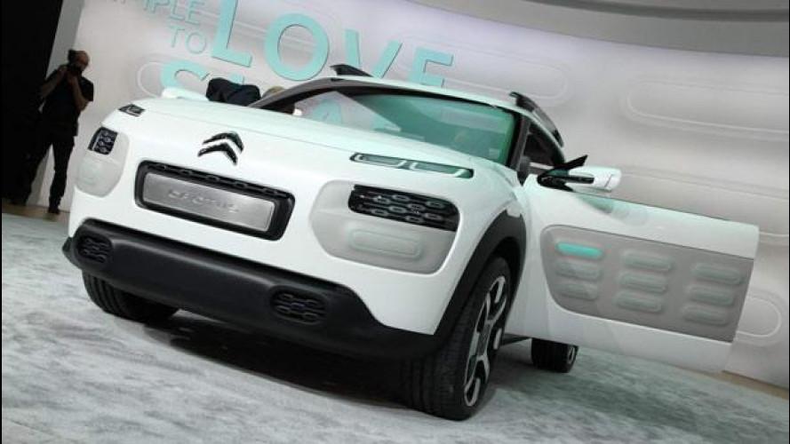 Salone di Francoforte: Citroen Cactus Concept, voglia di stupire