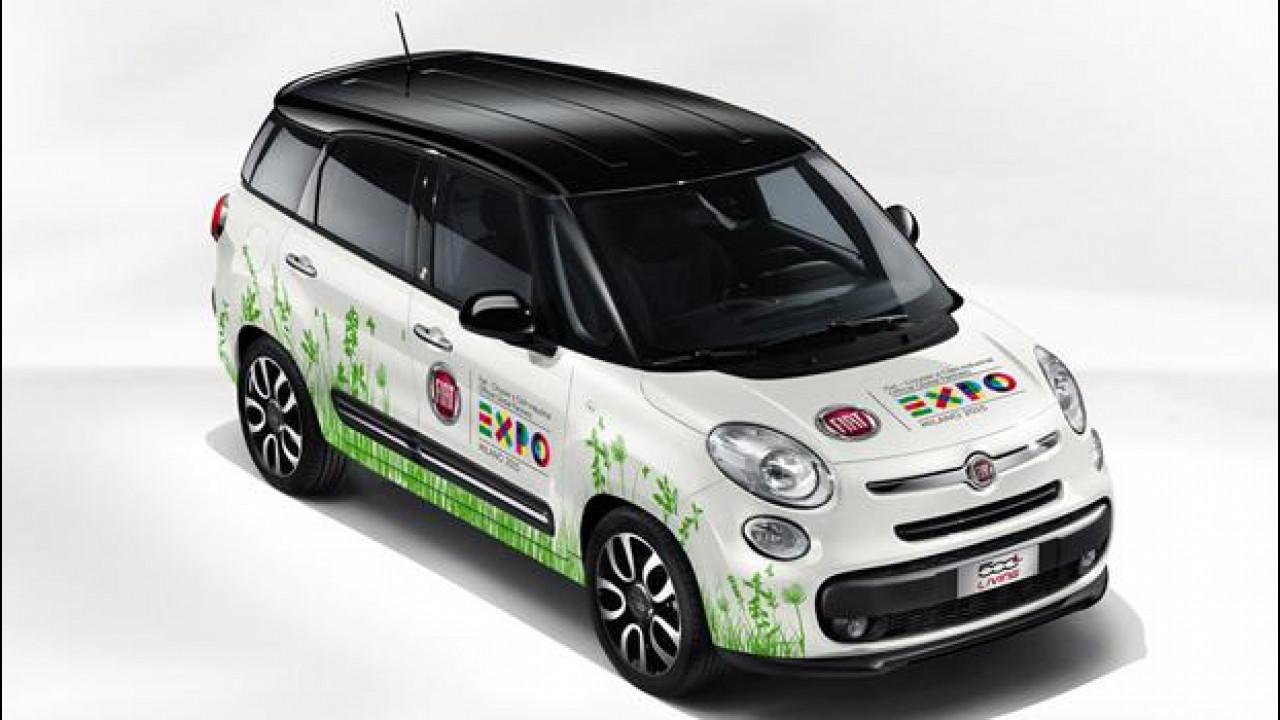 [Copertina] - Fiat 500L Living è l'auto di Expo Milano 2015