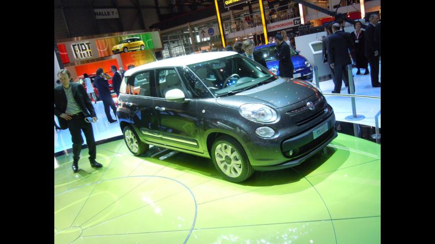500L, Fiat si eleva