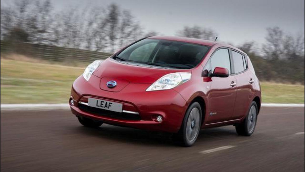 [Copertina] - Nissan Leaf MY 2013, la prova dell'auto elettrica per antonomasia