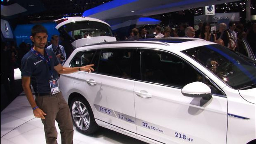 Volkswagen nuova Passat GTE, numeri interessanti
