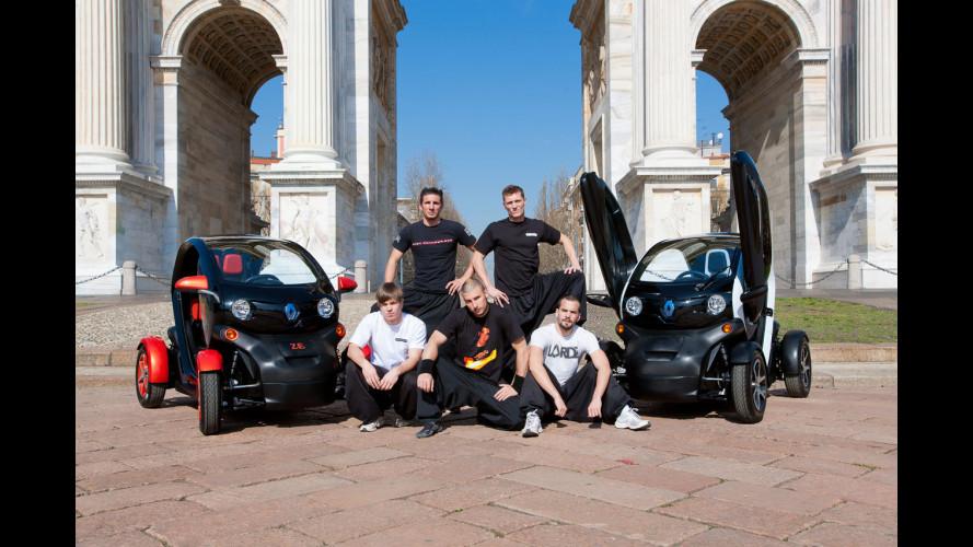 Renault Twizy nelle piazze italiane