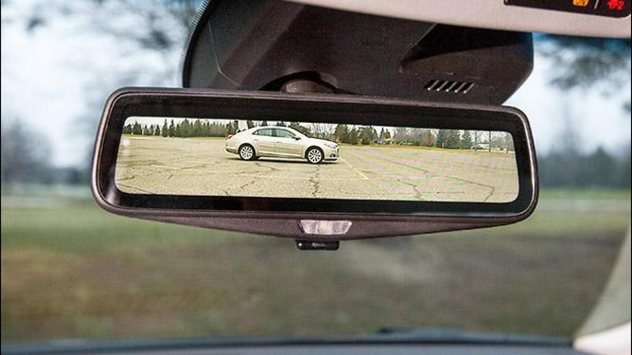 [Copertina] - Cadillac presenta lo specchietto digitale