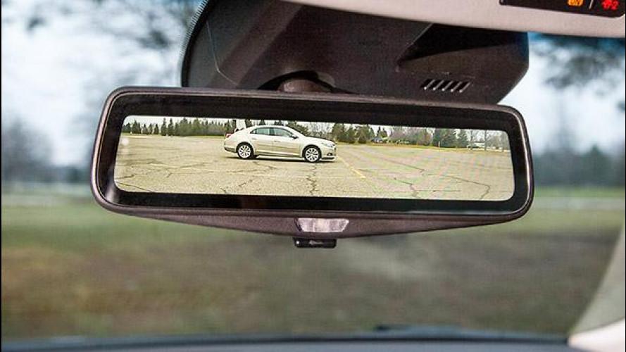 Cadillac presenta lo specchietto digitale