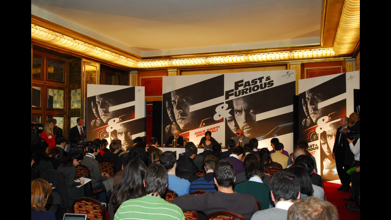 Fast and Furious - Solo parti originali, la prima a Roma