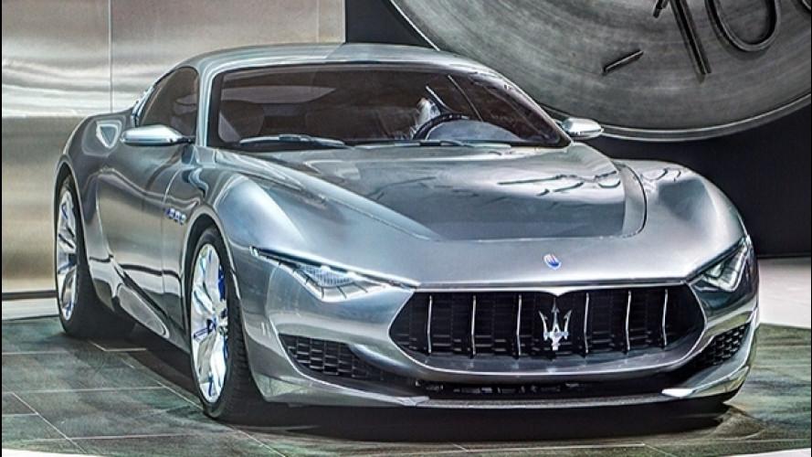 Maserati Alfieri, l'elettrica arriverà nel 2020
