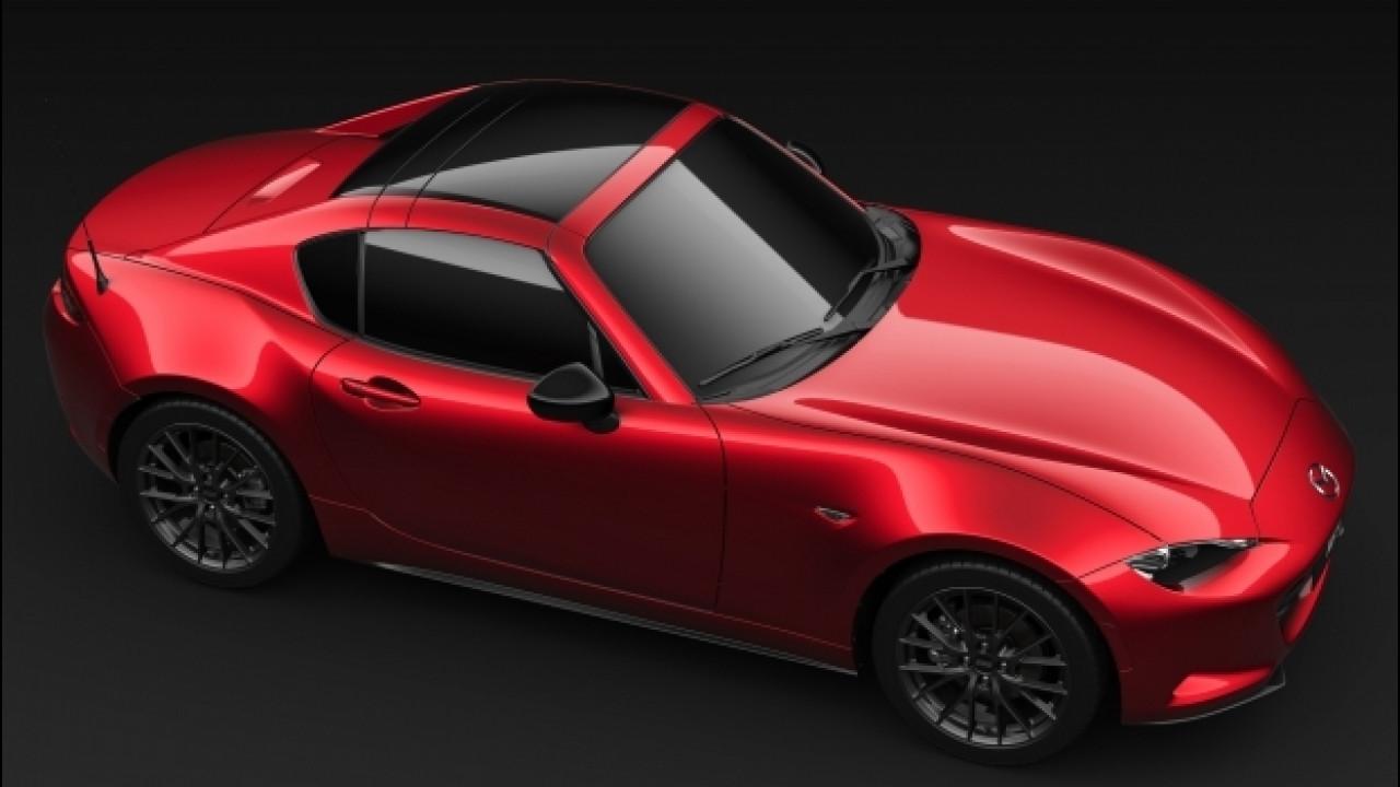 [Copertina] - Mazda MX-5 RF Limited Edition, gli ordini sono aperti. Online