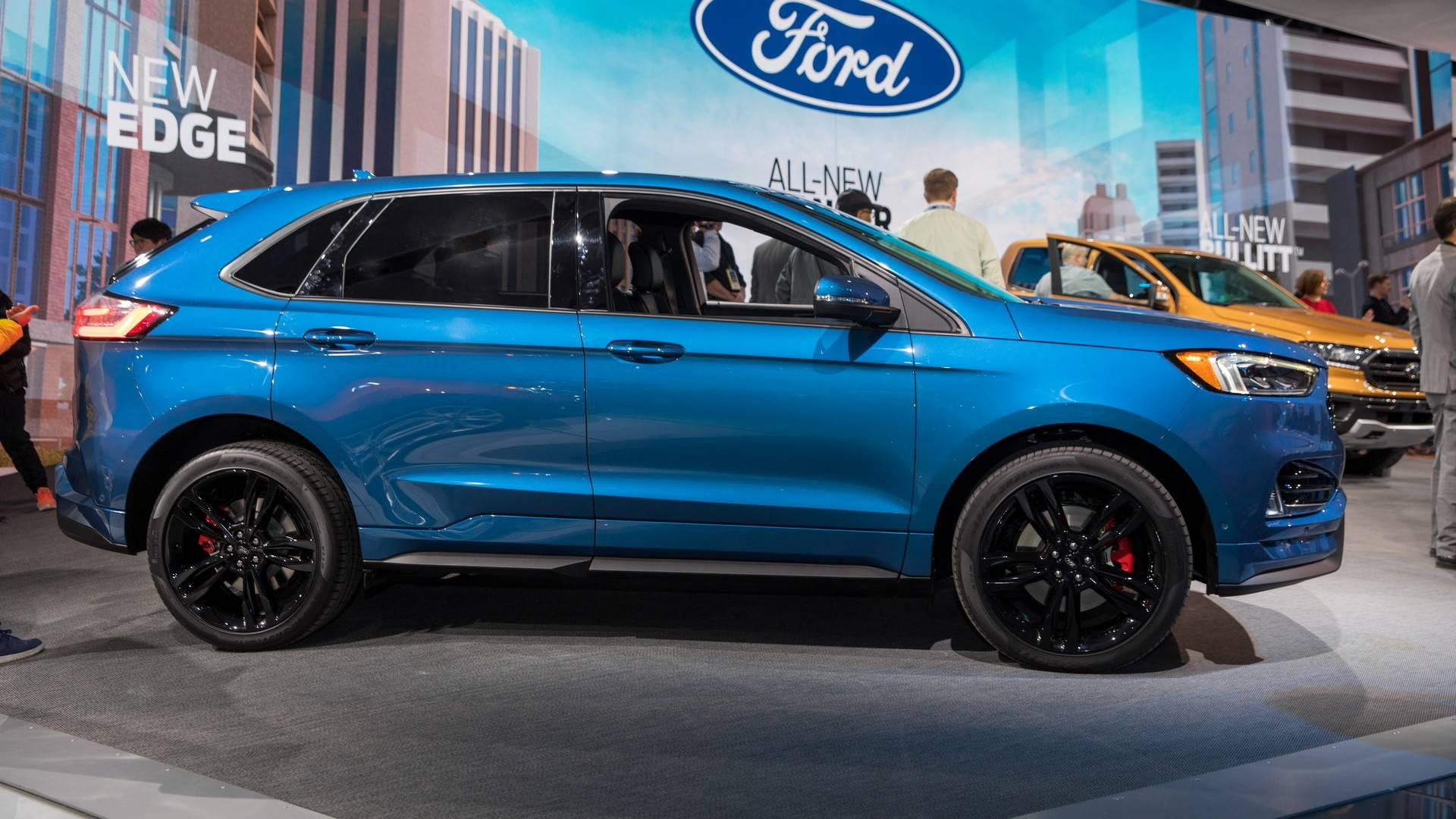 2019 Ford Edge: News, Changes, Arrival >> Ford Refreshes 2019 Edge Launches 335 Hp St Model