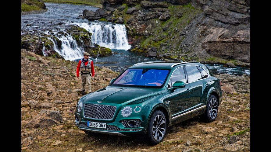 Bentley Bentayga Fly Fishing, a pesca con stile