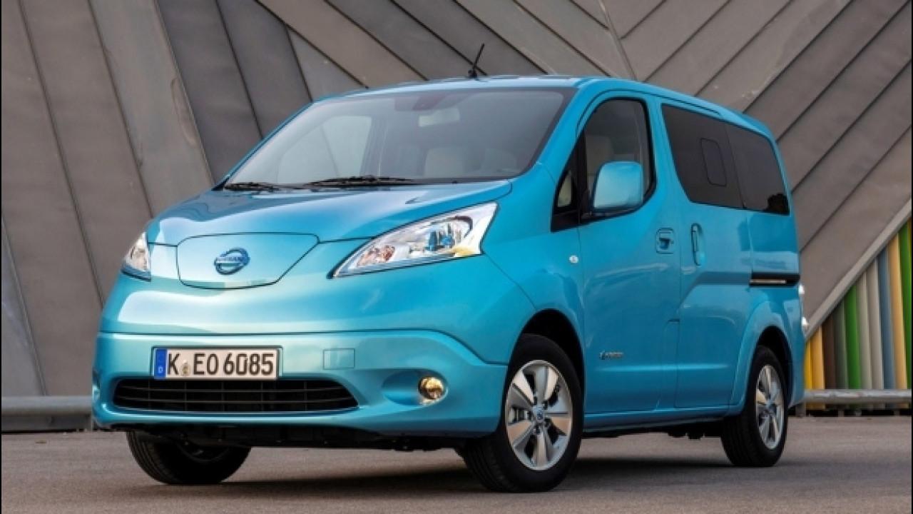 [Copertina] - Nissan e-NV200 è il van elettrico più venduto in Europa e in Italia