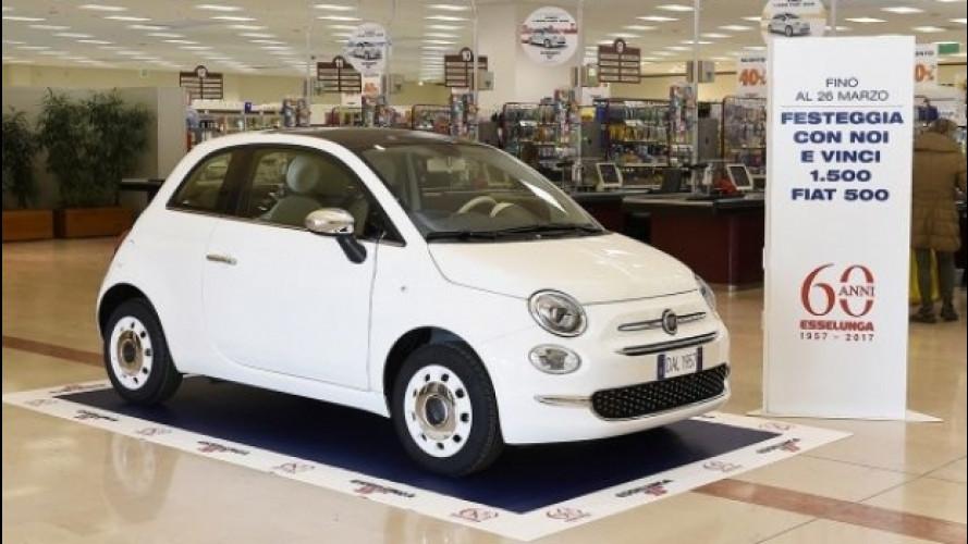Fiat 500, da Esselunga si vince con un concorso